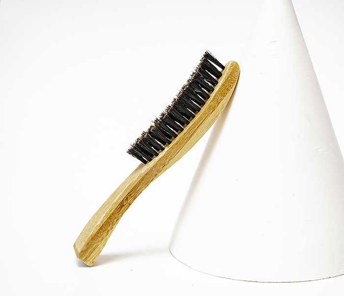 CARE166 Деревянная щетка для волос фото 04