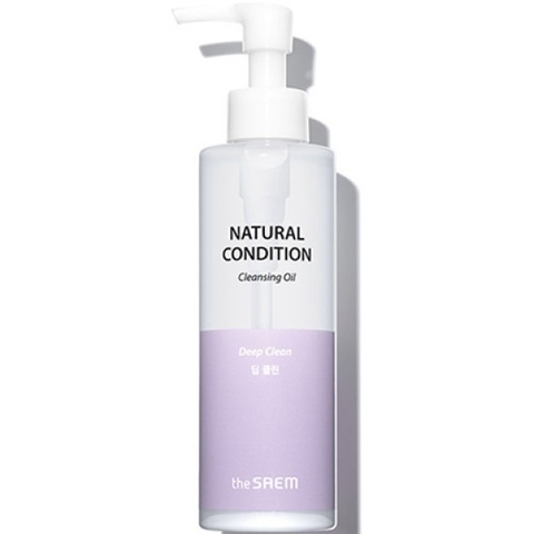 Купить SAEM Natural Condition Гидрофильное масло Natural Condition Cleansing Oil Deep Clean 180мл