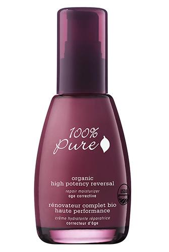 Органический питательный крем для лица «Эффективное омоложение», 100% Pure