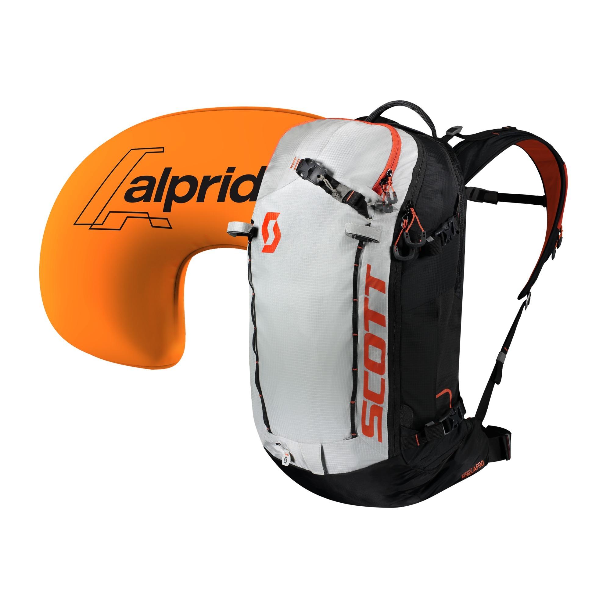 Лавинный рюкзак Patrol E1 30 Kit black/tangerine orange
