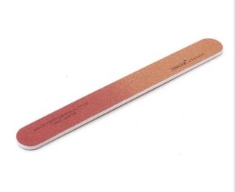 ZINGER Пилка-наждак EJ-207 красно-коричневая 120/180