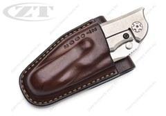 Чехол кожаный ZT 0562 коричневый