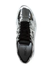 Кожаные кроссовки Premiata Conny 4818 на шнуровке