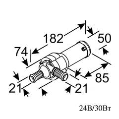 Насос циркуляционный U4846 24В / ВБ