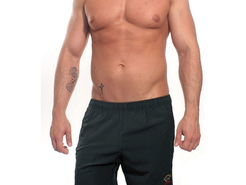 Мужские шорты пляжные черные PAUL & SHARK 140716-4