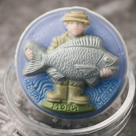 Пластиковая мыльная форма Рыба моей мечты