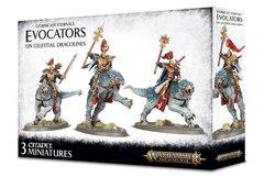 Stormcast Eternals Evocators on Celestial Dracolines