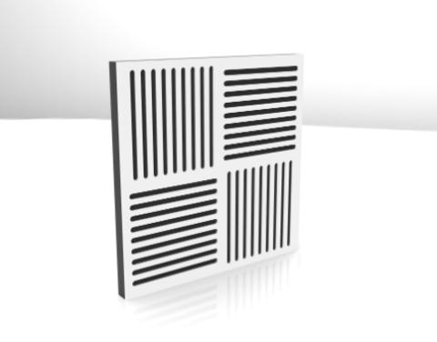 Акустический поролон панель ECHONON Studio-7 200-1600 Hz