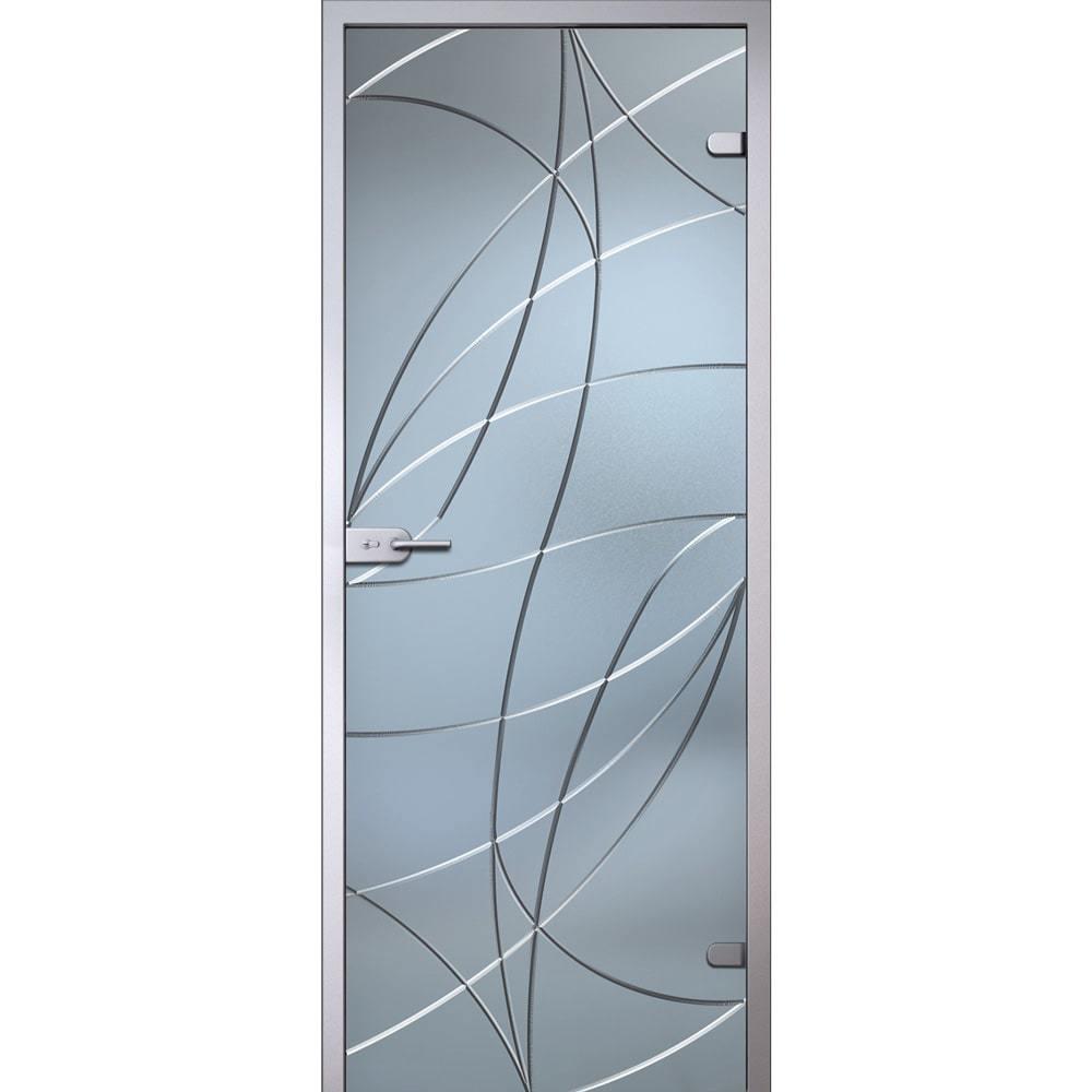 Межкомнатные двери Межкомнатная стеклянная дверь АКМА Аврора стекло беcцветное матовое avrora-dvertsov-min.jpg