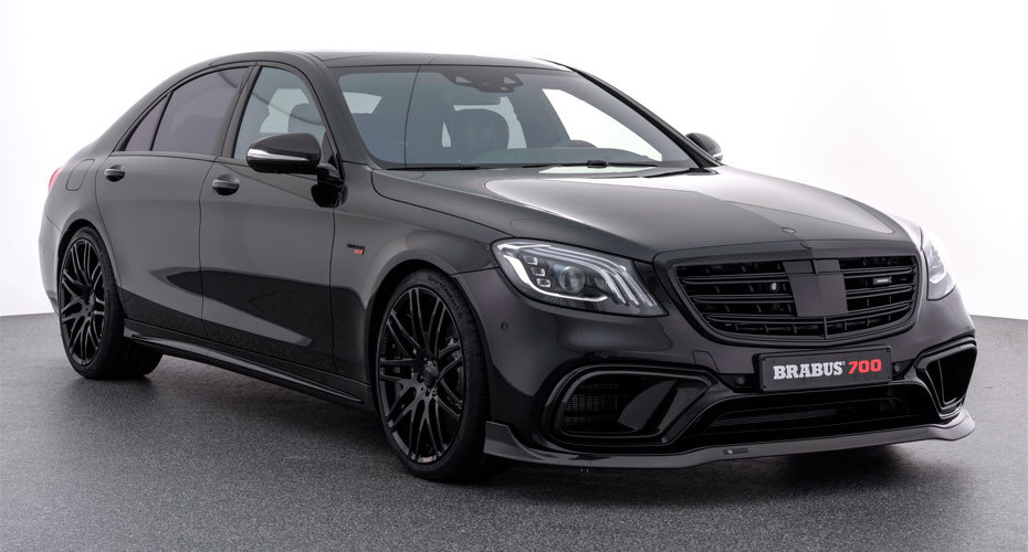 Обвес Brabus для Mercedes S63 W222 рестайлинг