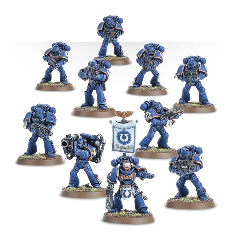 SPACE MARINE TACTICAL SQUAD (NEW)