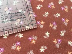 Ткань для пэчворка, хлопок 100% (арт. X0412)