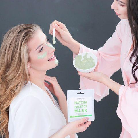 Маска для лица Matcha Facetox Mask Joko Blend 20 гр (2)