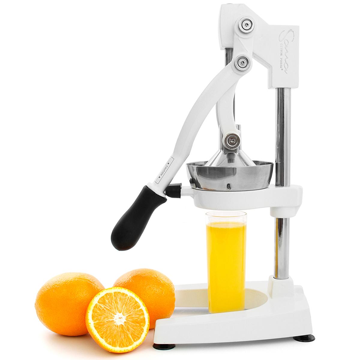 Ручные соковыжималки Соковыжималка прессовая Sana Citrus Press (белая) Sana_Citrus_Press_White.jpg