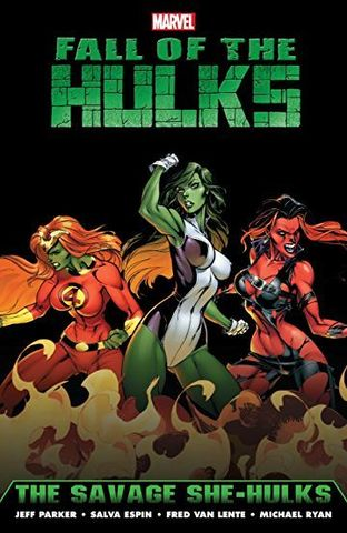 Hulk: Fall of the Hulks. The Savage She-Hulks