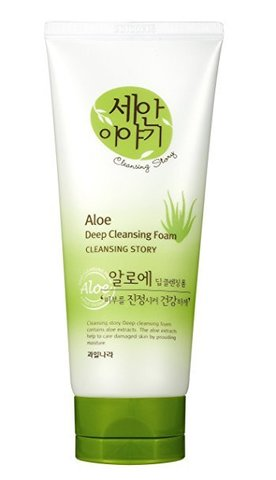 WELCOS Cleansing Story Пенка для умывания Cleansing Story Foam Cleansing (Green Tea)120g