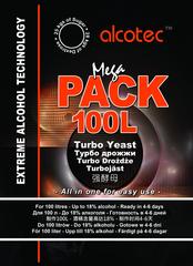 Спиртовые дрожжи Alcotec Megapack 100L, 360гр (от 5шт по 3485тг) В Пути