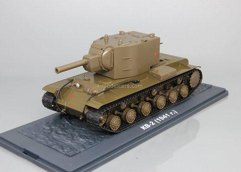 Tank KV-2 1:43 DeAgostini Tanks. Legends Patriotic armored vehicles #5
