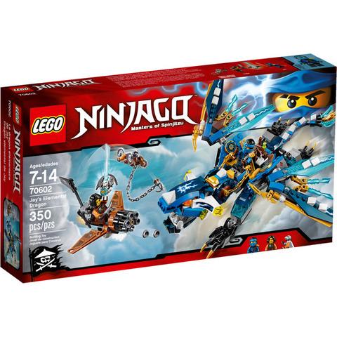 LEGO: Дракон Джея 70602 — Jay's Elemental Dragon — Лего Ниндзяго