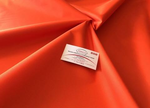 Тентовая ткань Оксфорд 600Д оранжевая