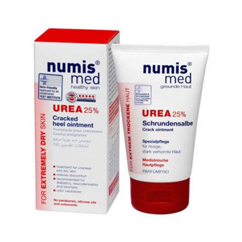 Крем для пяток с 25 % мочевиной Numis Med