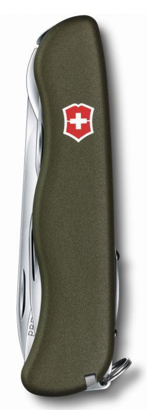 Складной нож Victorinox Outrider Green (0.8513.4R) 111 мм., 14 функций, цвет зелёный - Wenger-Victorinox.Ru