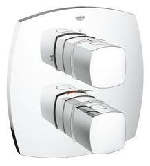 Смеситель для ванны и душа термостатический со встроенным переключателем на 2 положения   Grohe Grandera 19948000