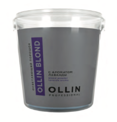 Осветляющий порошок Ollin, с ароматом лаванды 500g.
