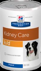 Ветеринарный корм для собак с заболеваниями почек Hill`s Prescription Diet k/d, с курицей