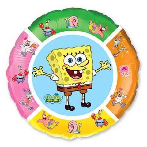 Фольгированный шар Губка Боб и друзья