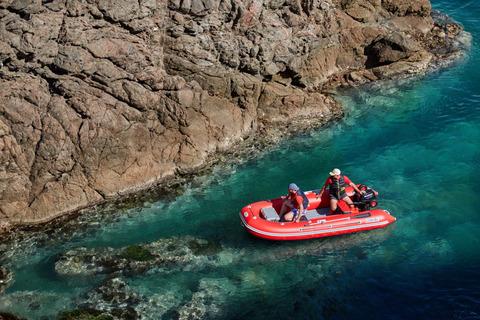 Надувная лодка Compas-380S с НДНД, красный