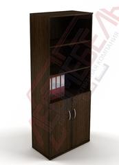 Ш-03 Шкаф офисный с распашными дверьми,с полками