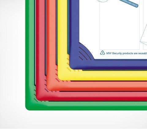 Рамка для перекидной системы INFOFRAME A4, серый