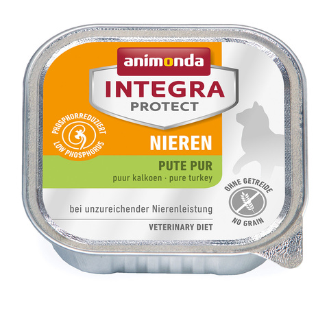 Animonda Integra Protect Cat (ламистер) Nieren (RENAL) pure Turkey