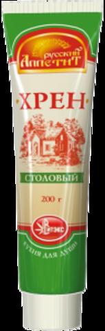 Хрен столовый 200г. туба Русский аппетит