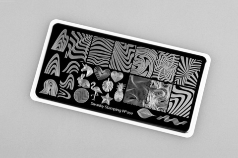 Пластина Swanky Stamping №059