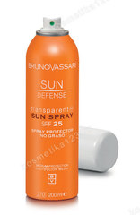 Спрей для тела солнцезащитный (Bruno Vassari | Sun Defense | Transparent Sun Spray SPF 25), 200 мл