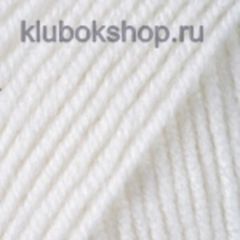 YarnArt Merino De Luxe (50) 501 Белый, пряжа, фото