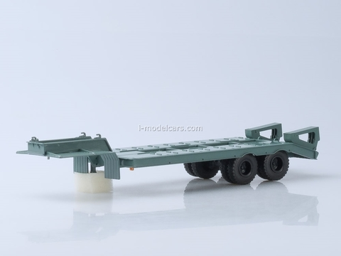 Semitrailer heavy carrier ChMZAP-5523 1:43 AutoHistory