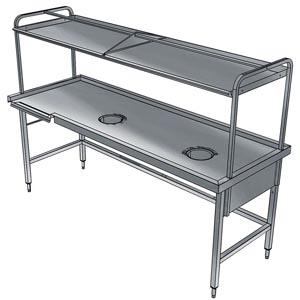 фото 1 Стол для сортировки посуды Electrolux BHST1708R 865336 на profcook.ru