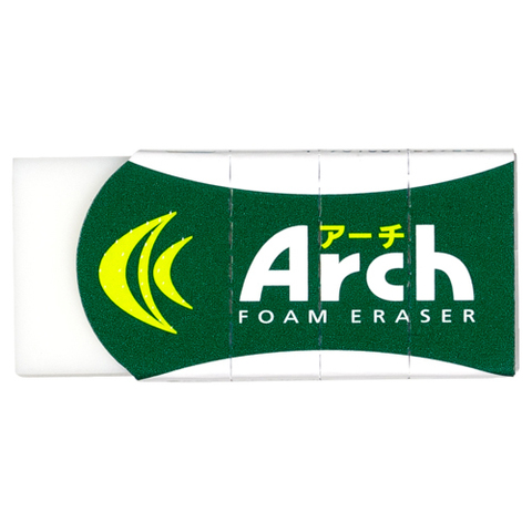 Ластик Rabbit-Sakura Arch Foam 60 - белый, 12 г