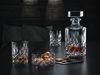 NOBLESSE - Набор 3 предмета: декантер 750 мл + 2 стакана 295 мл бессвинцовый хрусталь