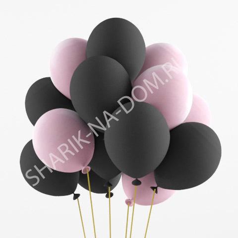 Облако из шаров Облако из черных и розовых шаров Облоко_из_чёрных_и_розовых_шаров.jpg