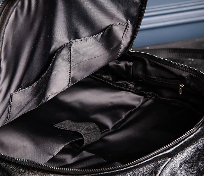 BAG527-1 Кожаный рюкзак с несколькими отделениями фото 14