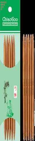 Чулочные спицы ChiaoGoo темный бамбук 15 см