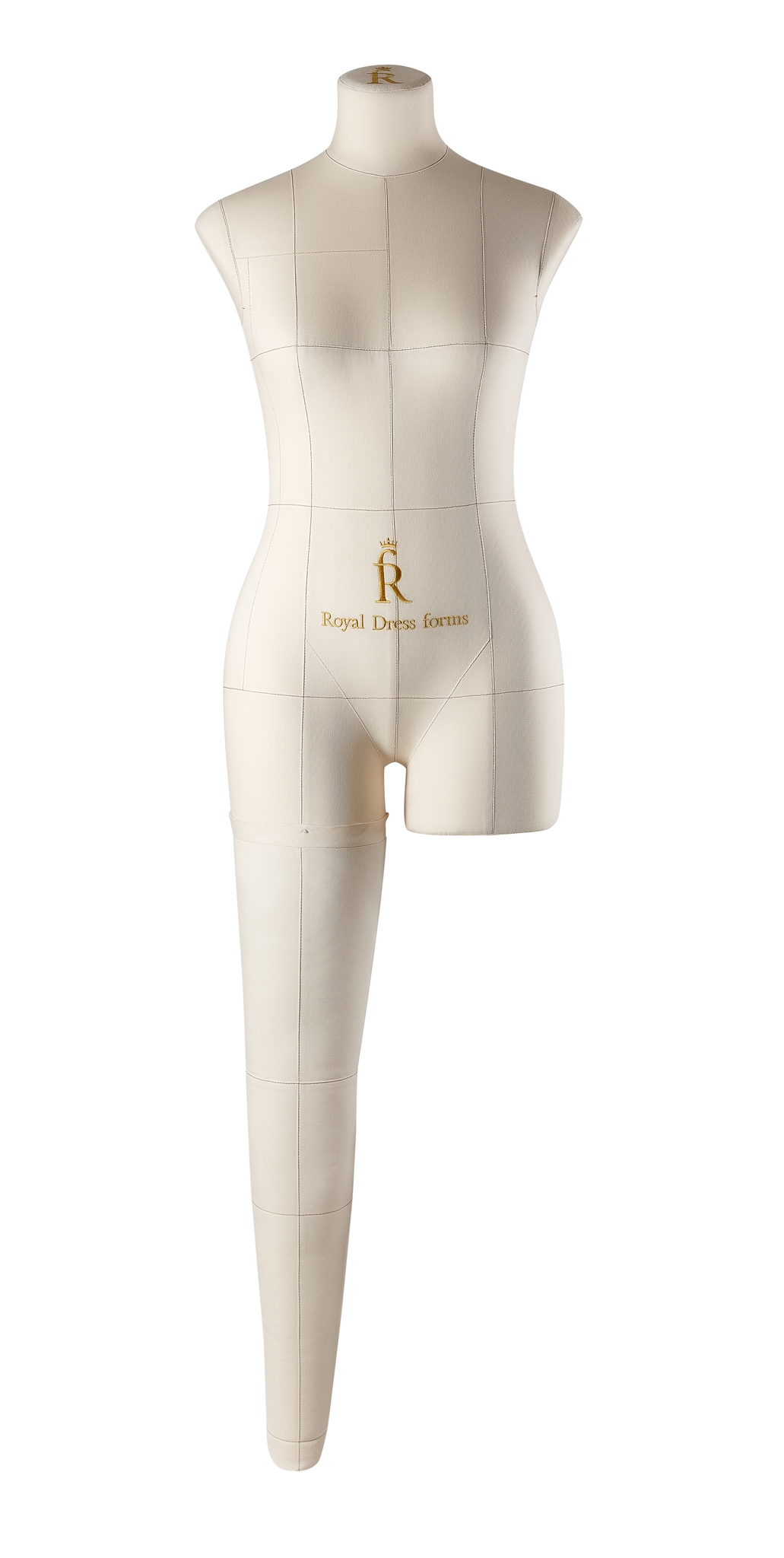 Нога бежевая для манекена Моника, 44 размер