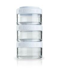 BlenderBottle GoStak 3 Контейнера по 60мл для перекусов и добавок из безопасного пластика Тритан