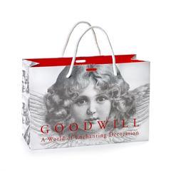Бумажный подарочный пакет 40x30x15см  Goodwiil Paper Bag