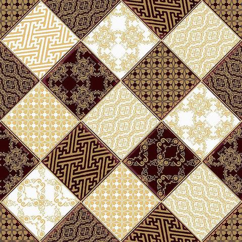 Линолеум Juteks Trend Chess 2 240D