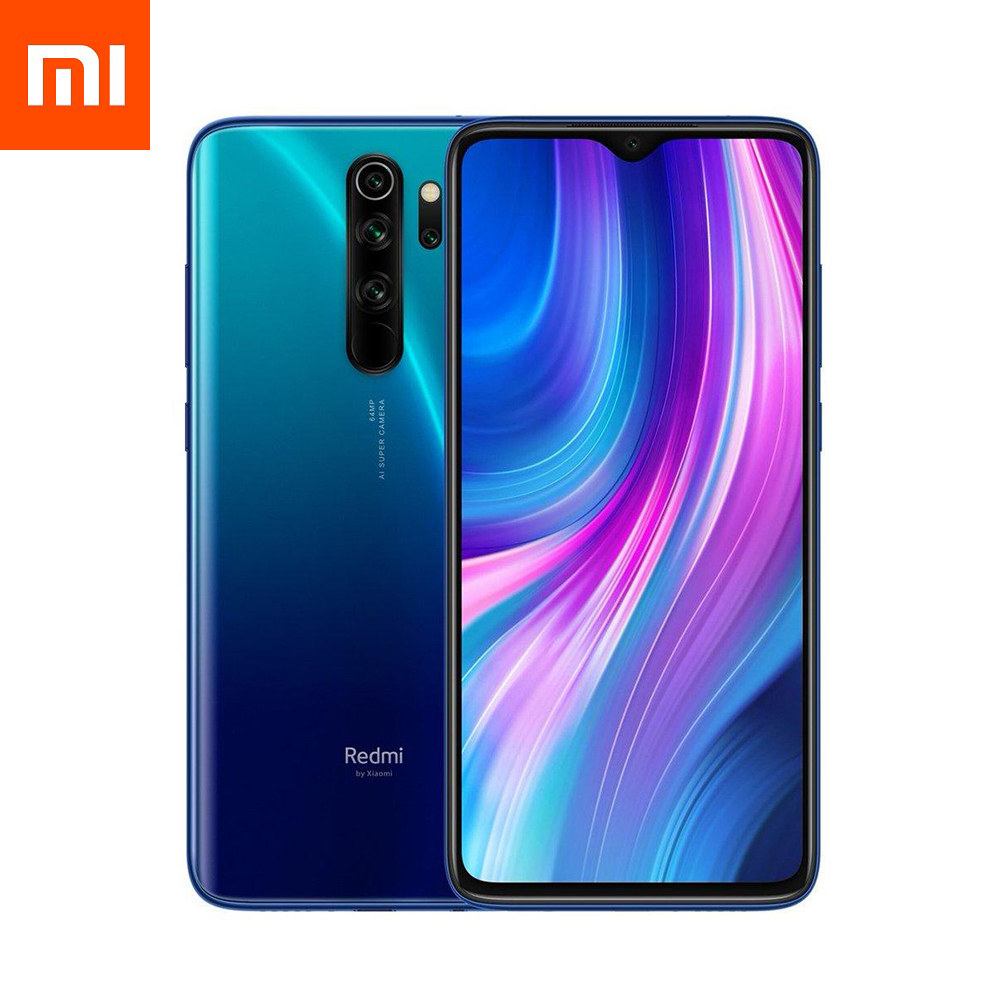 Смартфон Xiaomi Redmi Note 8 Pro 6/128GB Ocean Blue EU (Global Version)